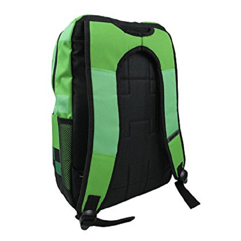 balo minecraft creeper backpack 2