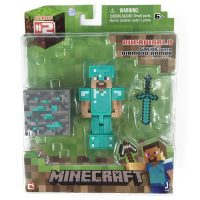 mo hinh minecraft steve mac giap diamond 0